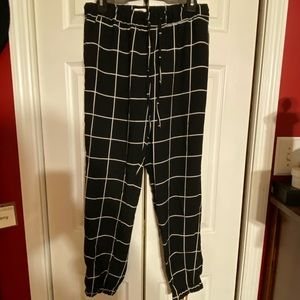The Gap checkered joggers